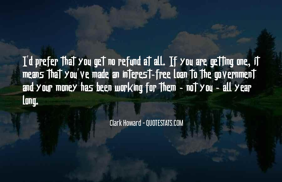Quotes About Not Working For Money #539556