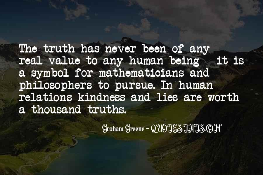 Quotes About Truths And Lies #112205