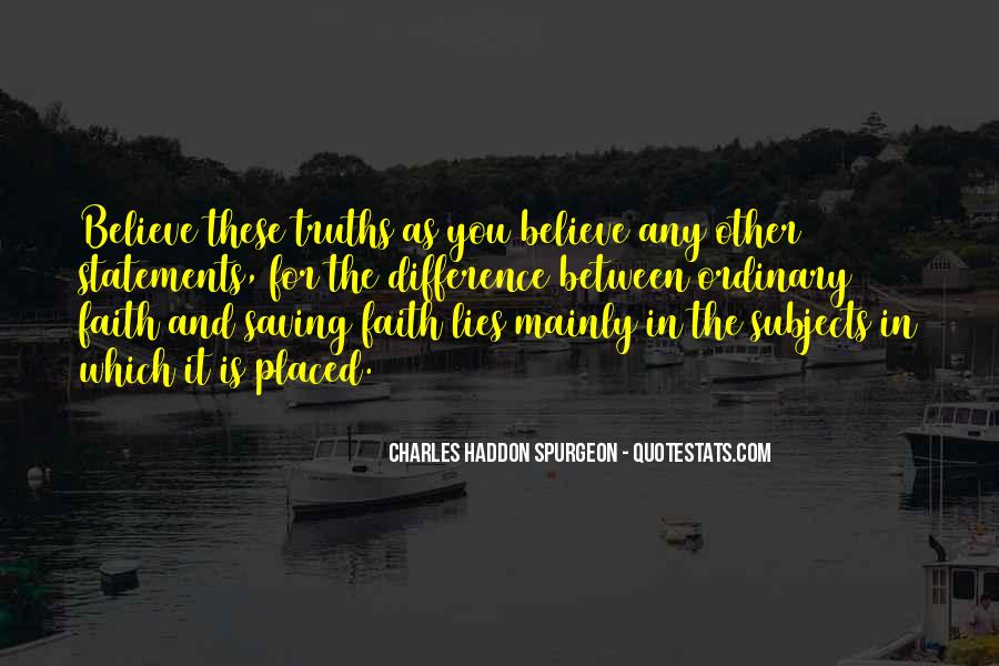 Quotes About Truths And Lies #1134644