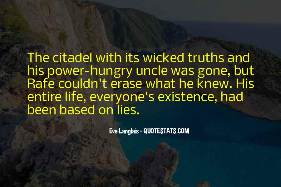 Quotes About Truths And Lies #1811366