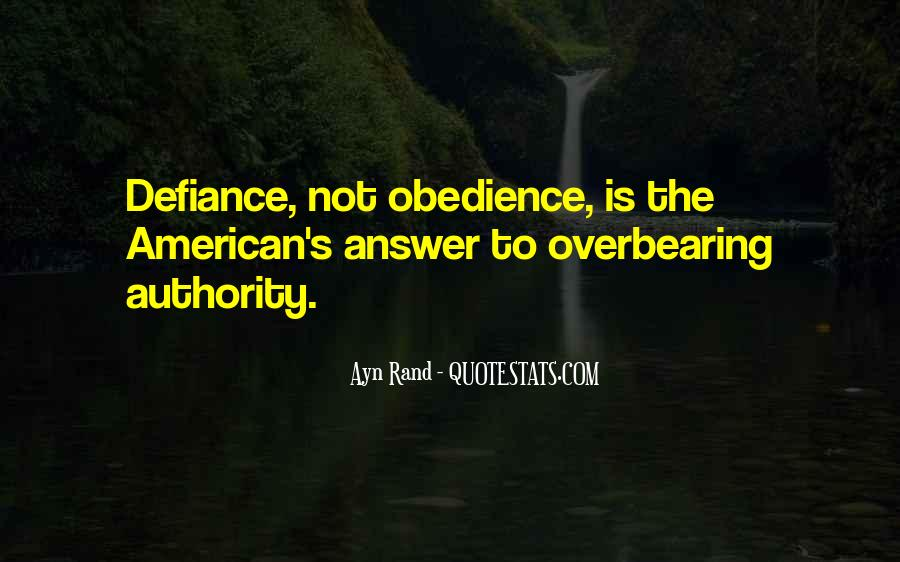 Quotes About Obedience To Authority #1149093