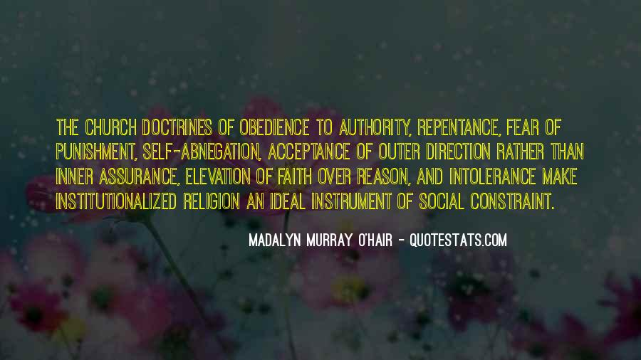 Quotes About Obedience To Authority #1319915