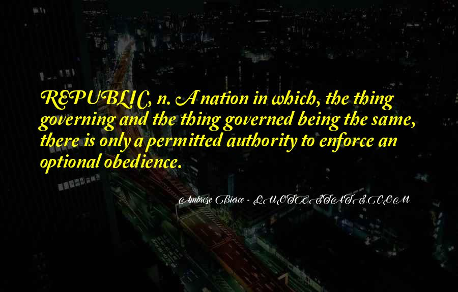 Quotes About Obedience To Authority #1752805