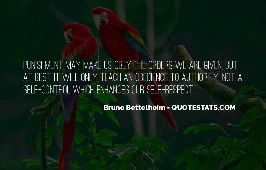 Quotes About Obedience To Authority #1804690