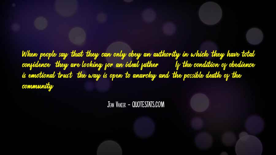 Quotes About Obedience To Authority #1845621