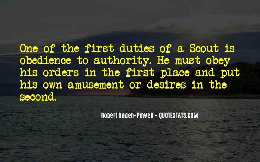 Quotes About Obedience To Authority #435755