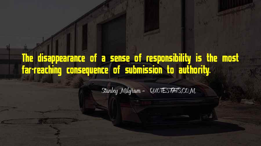 Quotes About Obedience To Authority #499987