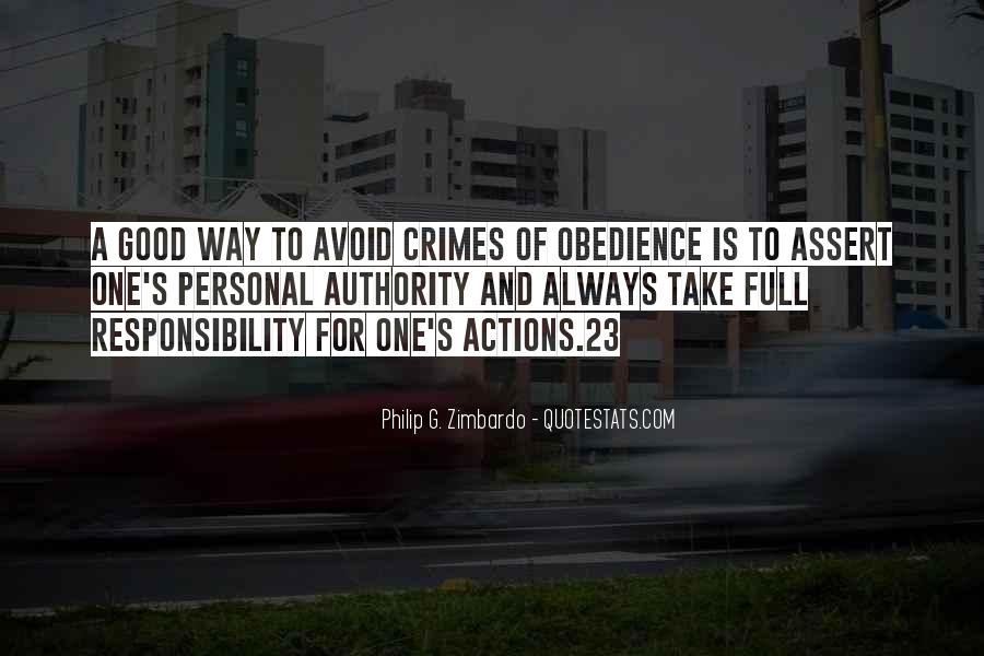 Quotes About Obedience To Authority #791574