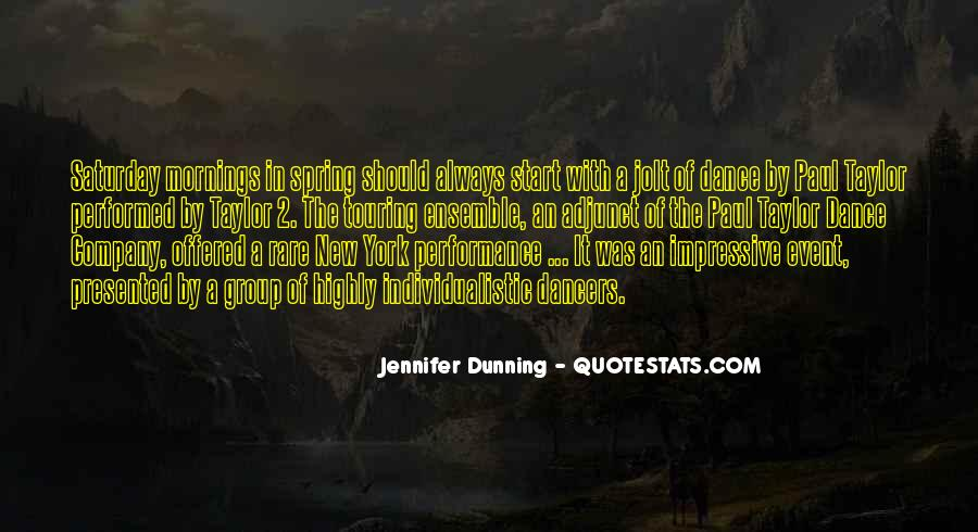 Quotes About Group Dance #562699