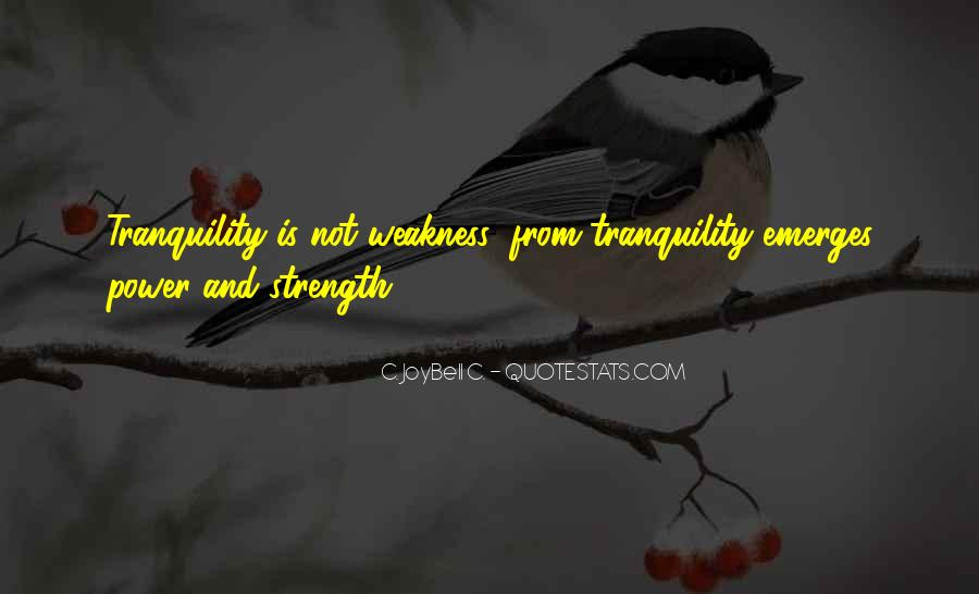 Quotes About Inner Strength And Peace #1481263