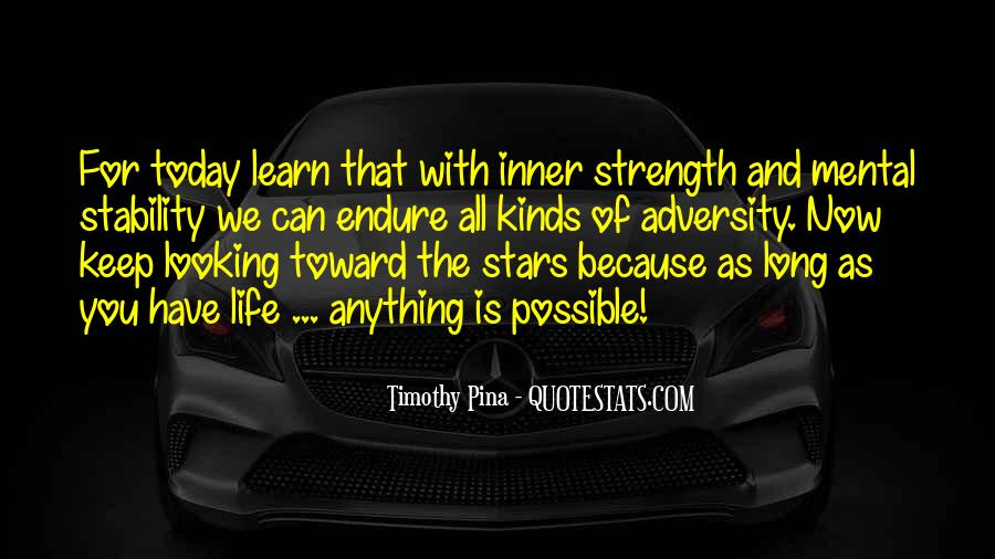 Quotes About Inner Strength And Peace #1626301