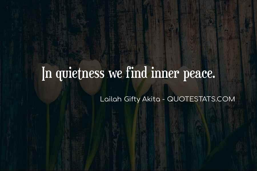 Quotes About Inner Strength And Peace #209236