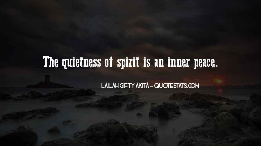 Quotes About Inner Strength And Peace #318380