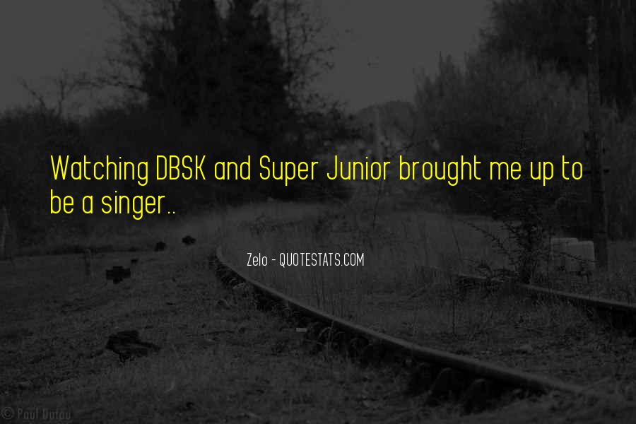 Quotes About Dbsk #318681