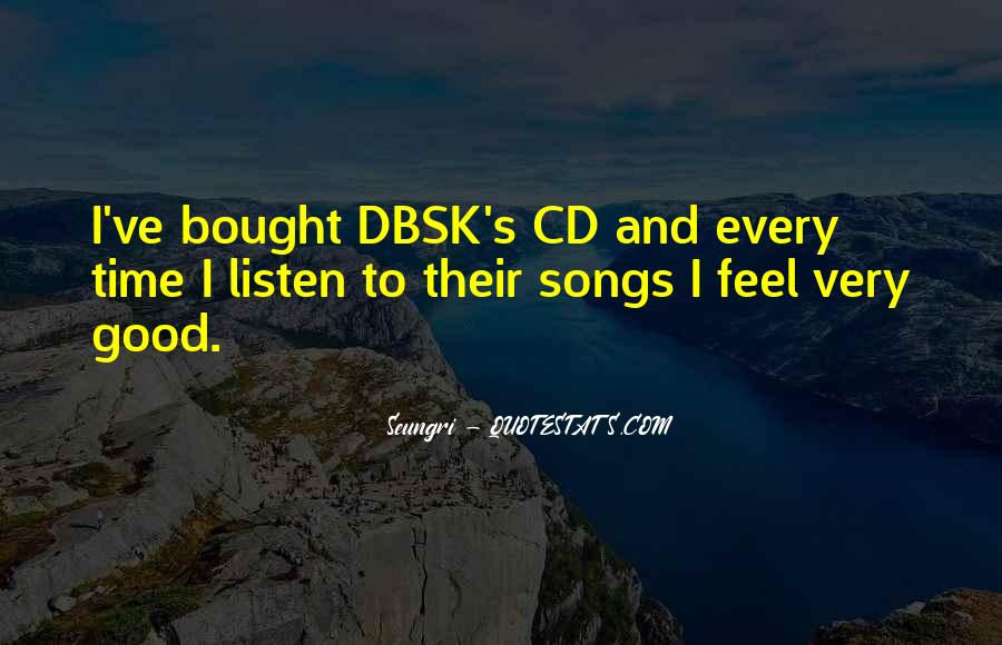 Quotes About Dbsk #632501