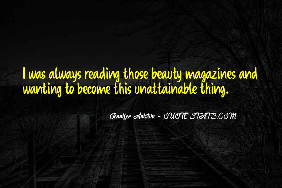 Quotes About Beauty Magazines #1726412