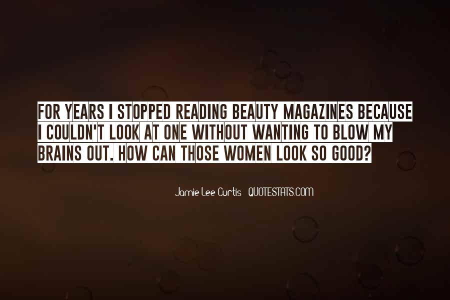 Quotes About Beauty Magazines #1754669