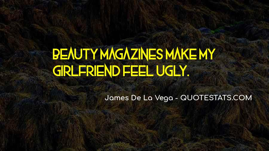Quotes About Beauty Magazines #574192