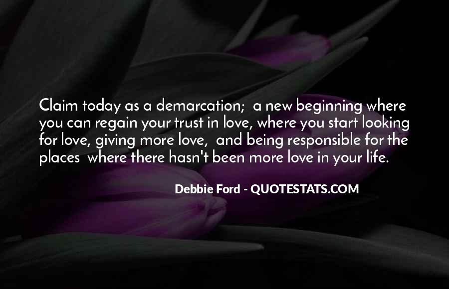 Quotes About A New Beginning Of Love #1111606
