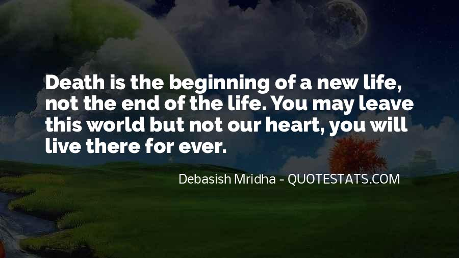 Quotes About A New Beginning Of Love #1343786