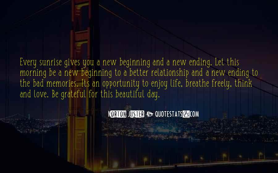 Quotes About A New Beginning Of Love #1345911