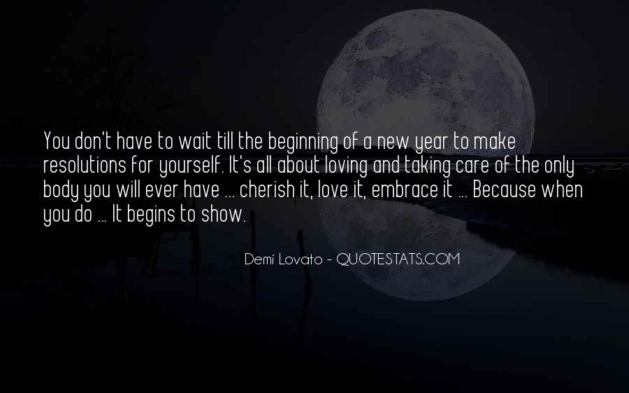 Quotes About A New Beginning Of Love #273264