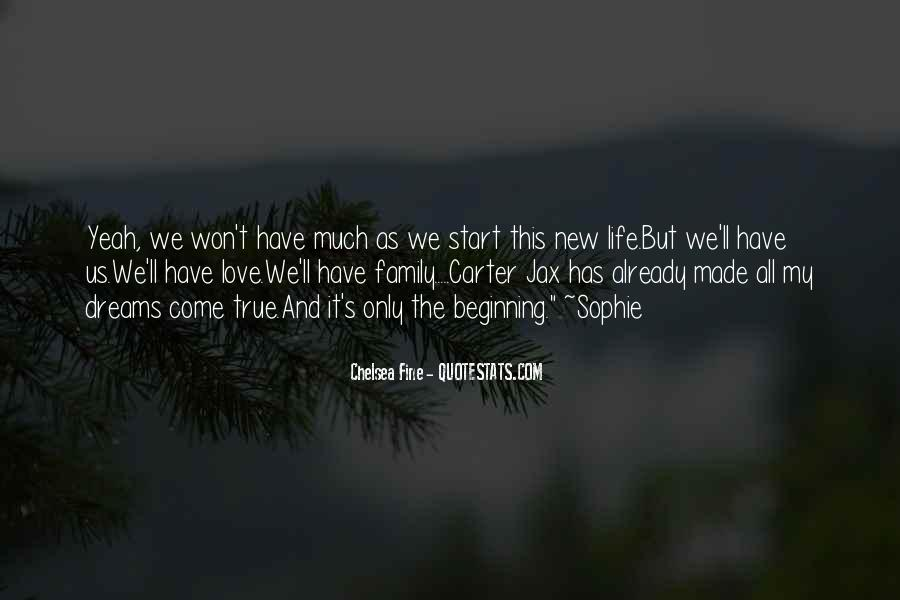 Quotes About A New Beginning Of Love #898760