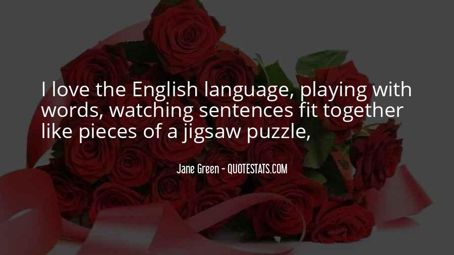 Quotes About Puzzle Pieces And Love #1134839