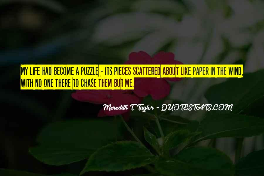 Quotes About Puzzle Pieces And Love #170488