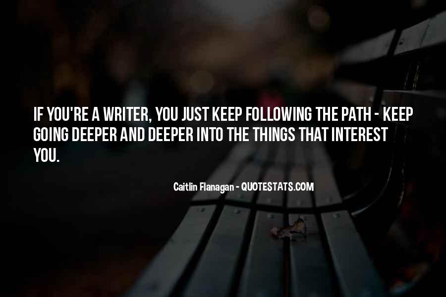 Quotes About Going Deeper #101021