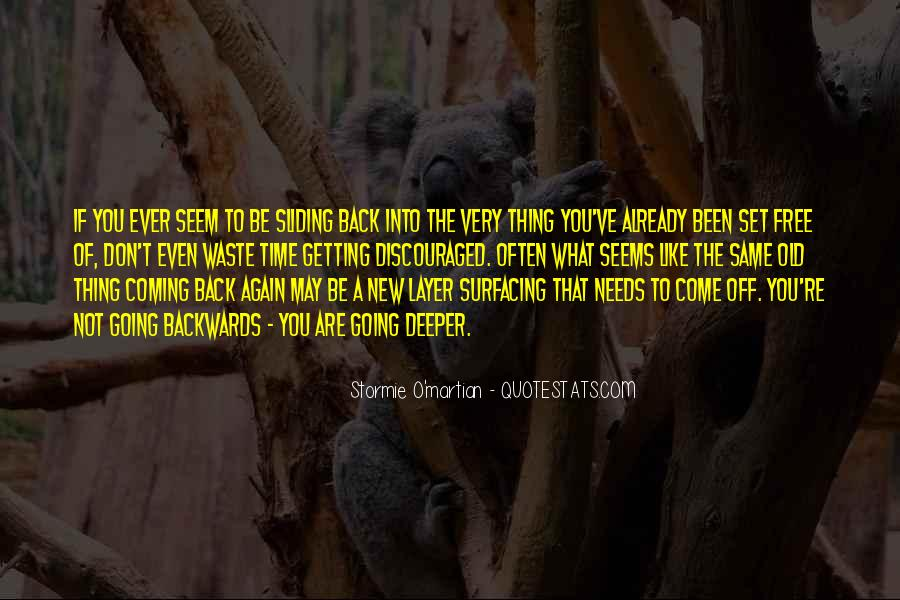 Quotes About Going Deeper #1045254