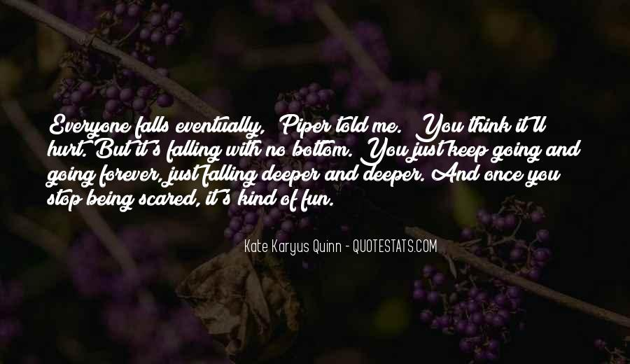 Quotes About Going Deeper #297003