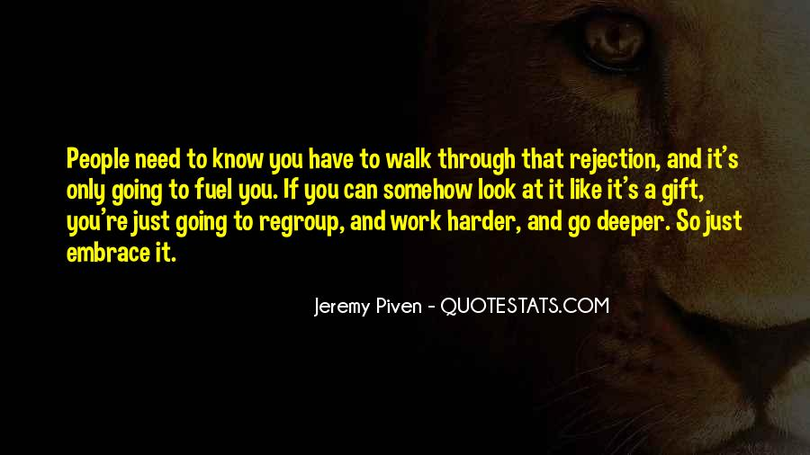 Quotes About Going Deeper #729332