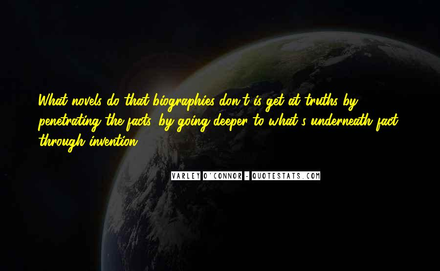 Quotes About Going Deeper #758508