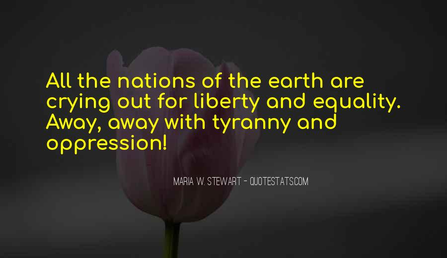 Quotes About Liberty And Tyranny #1572354