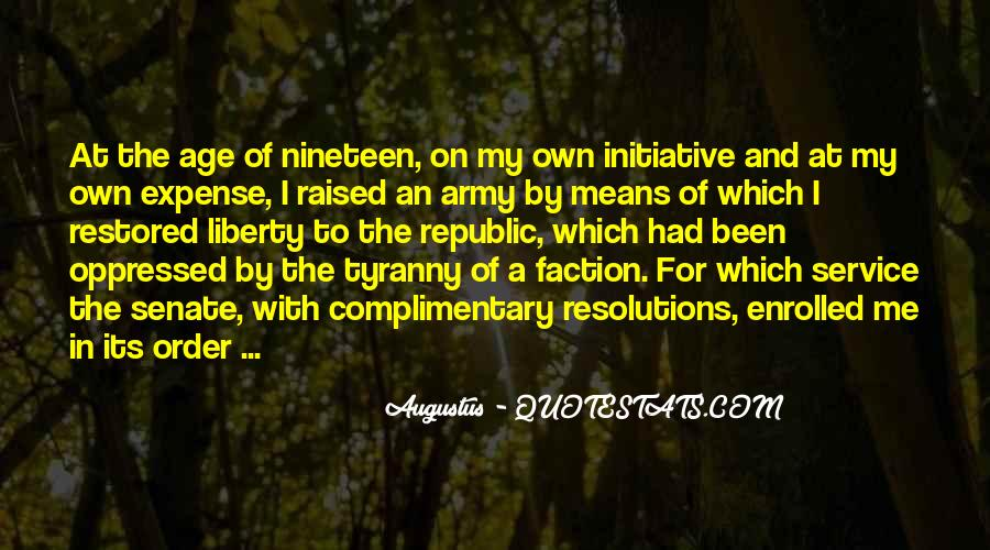 Quotes About Liberty And Tyranny #1821766