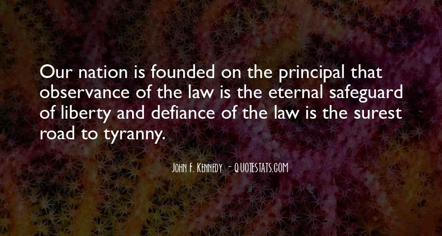 Quotes About Liberty And Tyranny #264871