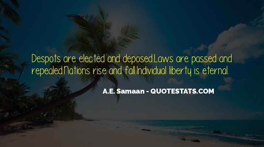 Quotes About Liberty And Tyranny #72938