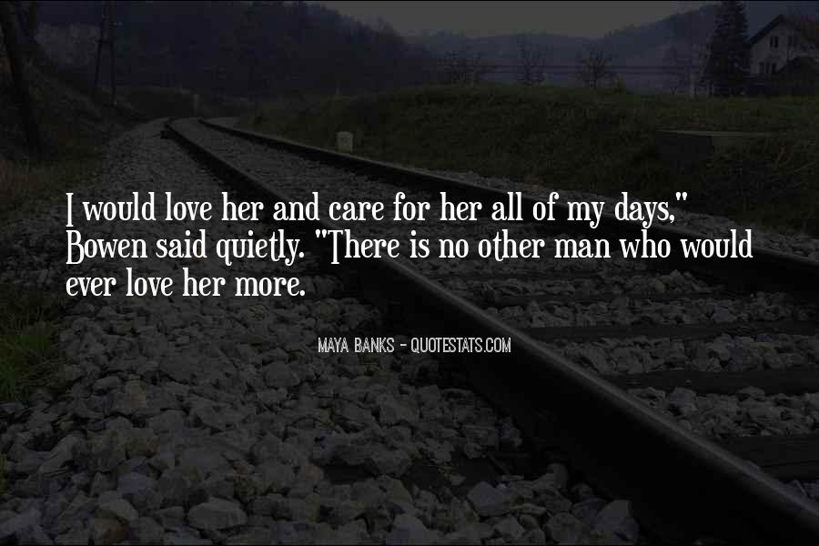 Quotes About Care For Her #109637