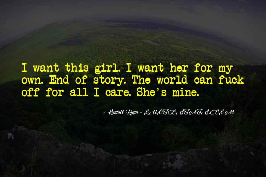 Quotes About Care For Her #183058