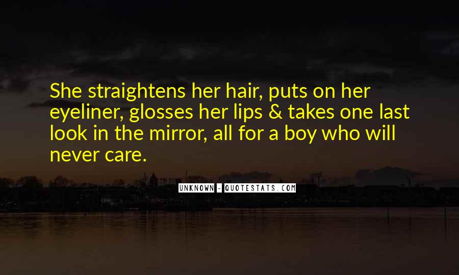 Quotes About Care For Her #918728