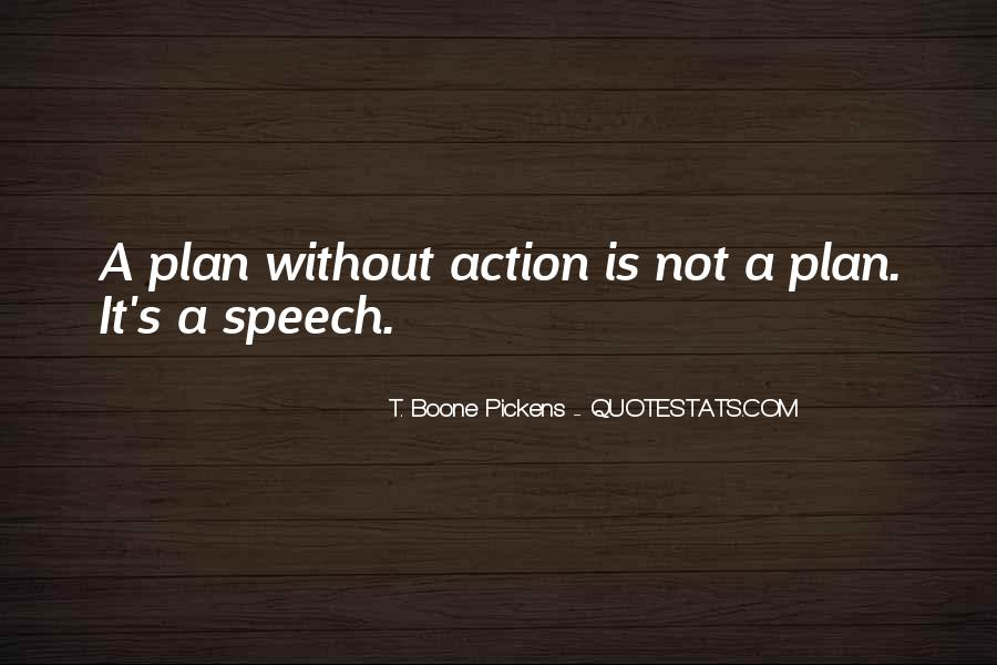 Quotes About Plans Without Action #212954