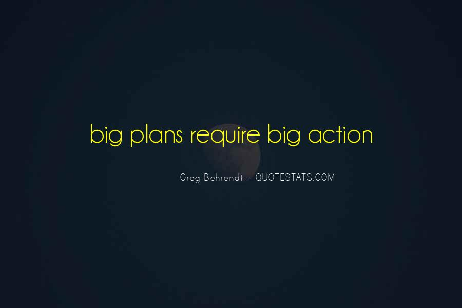 Quotes About Plans Without Action #718075
