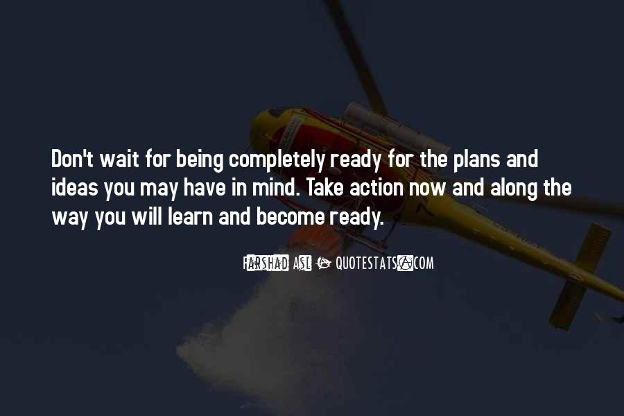 Quotes About Plans Without Action #751942