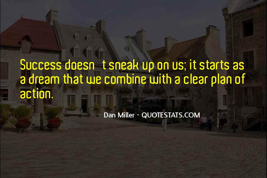 Quotes About Plans Without Action #859409