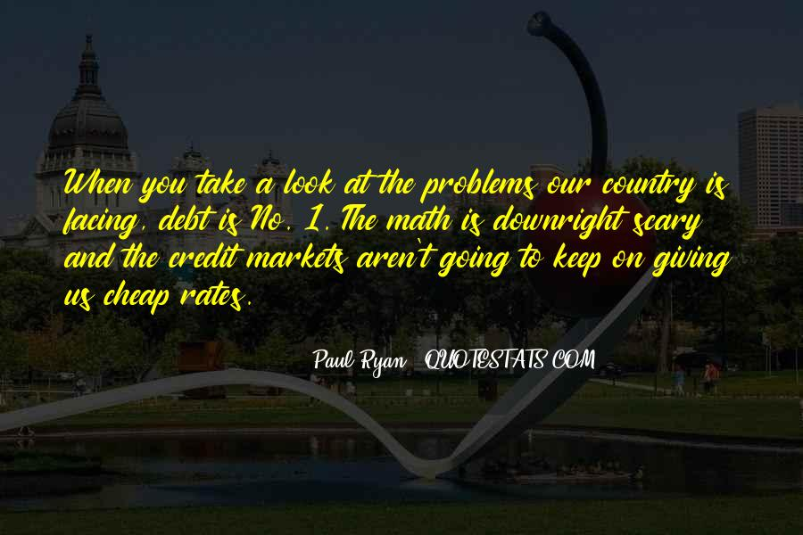 Quotes About Credit And Debt #1021118