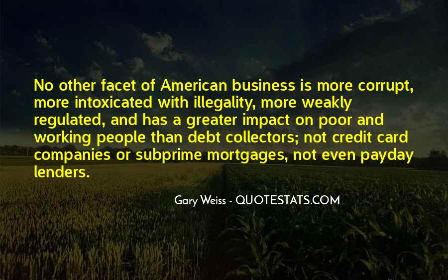 Quotes About Credit And Debt #1078662