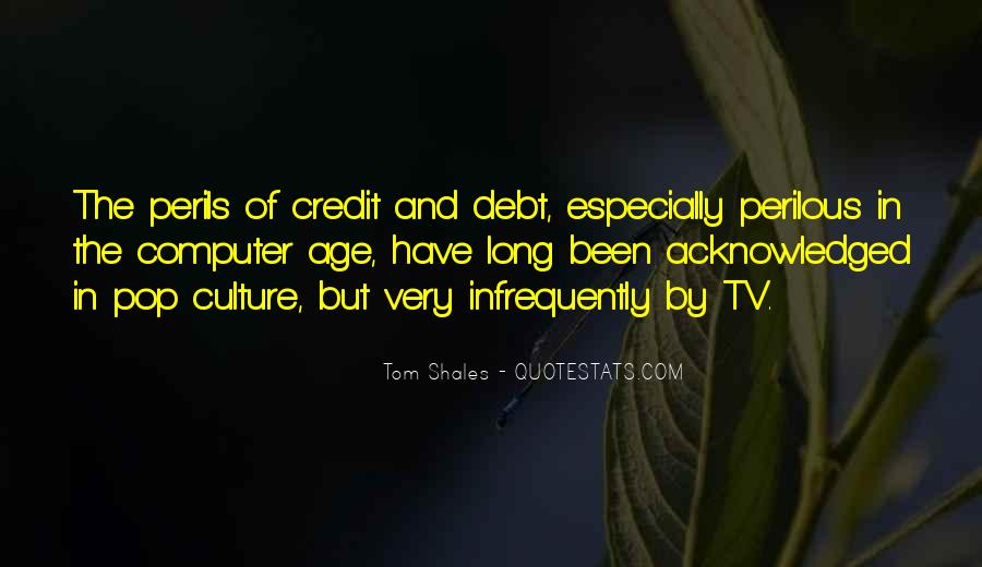 Quotes About Credit And Debt #1212674