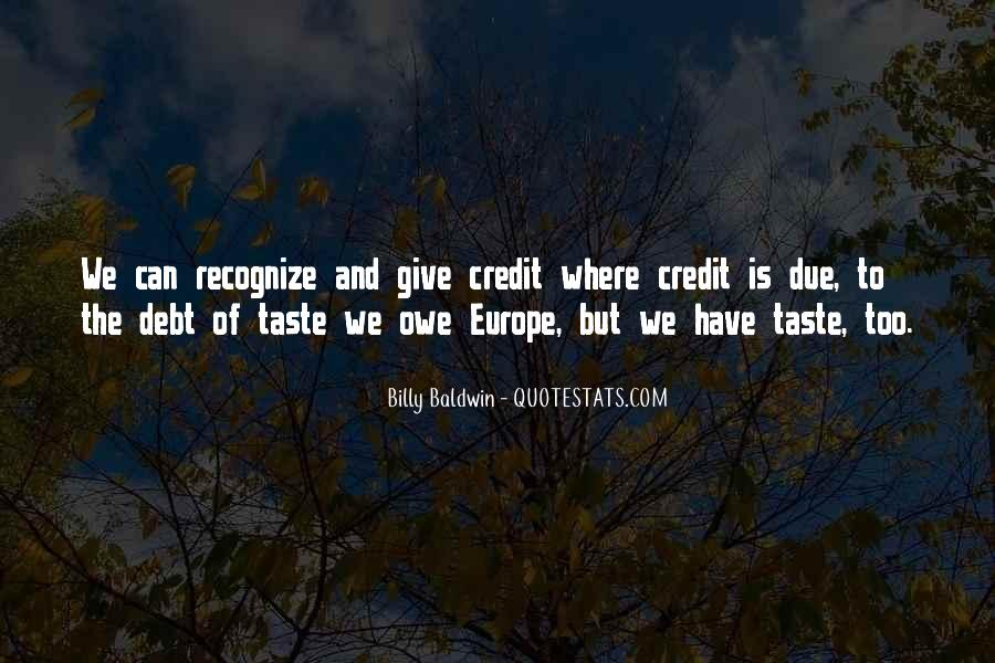 Quotes About Credit And Debt #1299279