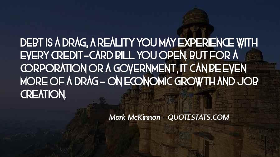 Quotes About Credit And Debt #1435545